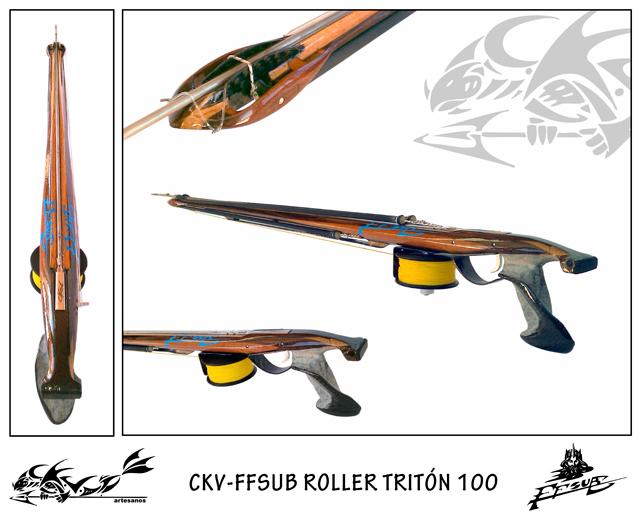 Fusil CKV-FFSUB Roller Tritón 100-105-110