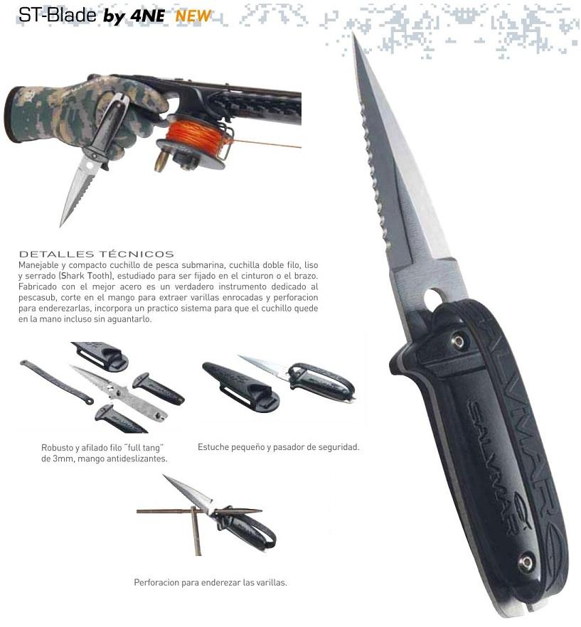 Cuchillo Salvimar ST_Blade
