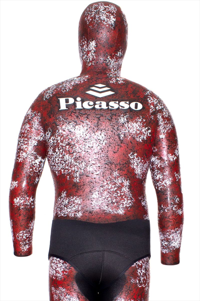Traje Picasso chicle Thermal Skin CAMO RED