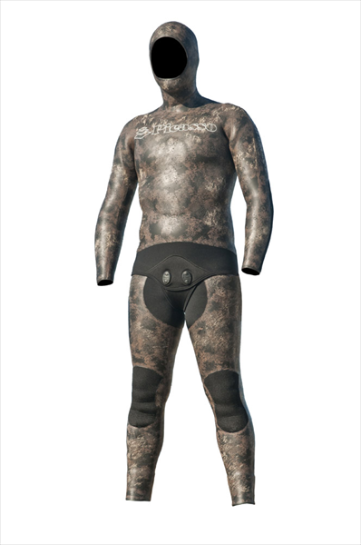 Traje Picasso chicle Thermal Skin CAMO BROWN
