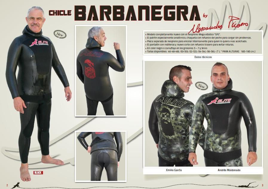 Oferta Traje chicle Heiwa Elite Barbanegra negro