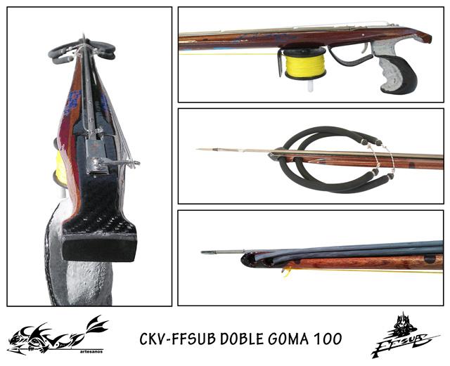 Fusil CKV-FFSUB Kraken 100