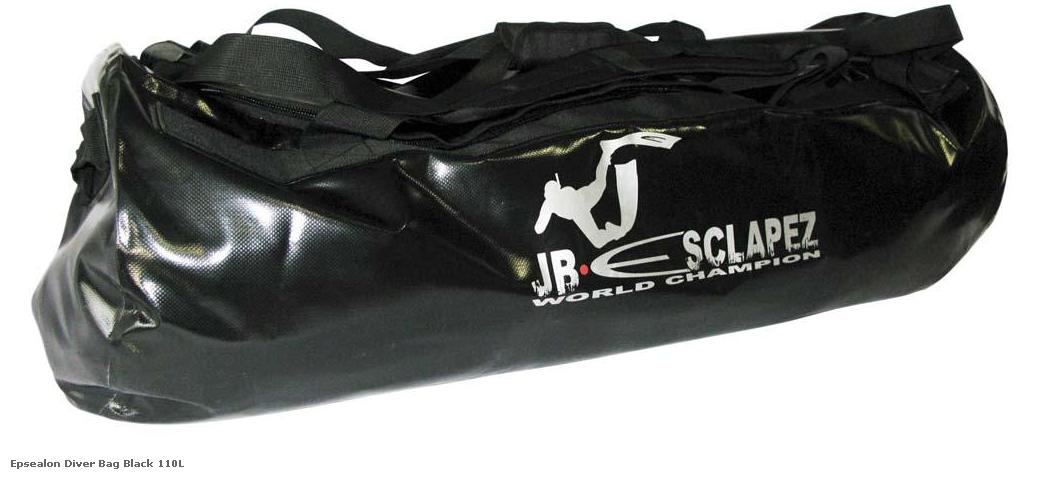 Epsealon Diver Bag Black 110L