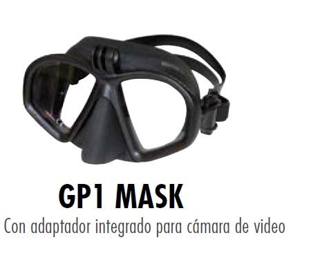 Mascara Beuchat GP1 con soporte camara