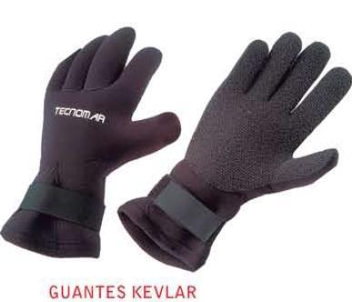 Guantes Tecnomar Kevlar 3 mm
